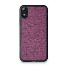Lemory Kožený kryt PROTECT pro iPhone XR - fialová