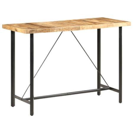 shumee Barska miza 150x70x107 cm robusten mangov les