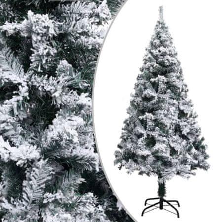 shumee PVC műkarácsonyfa pelyhes hóval 150 cm