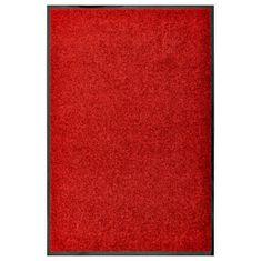 shumee piros kimosható lábtörlő 60 x 90 cm