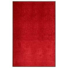 shumee piros kimosható lábtörlő 120 x 180 cm