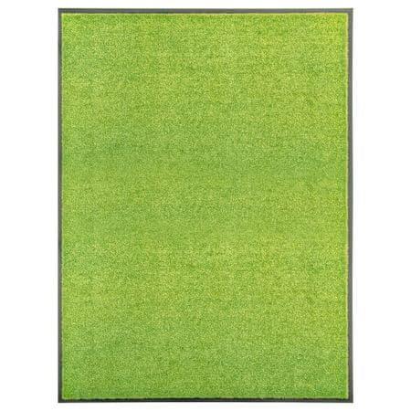 shumee Wycieraczka z możliwością prania, zielona, 90 x 120 cm