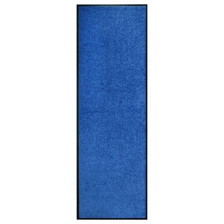 shumee kék kimosható lábtörlő 60 x 180 cm