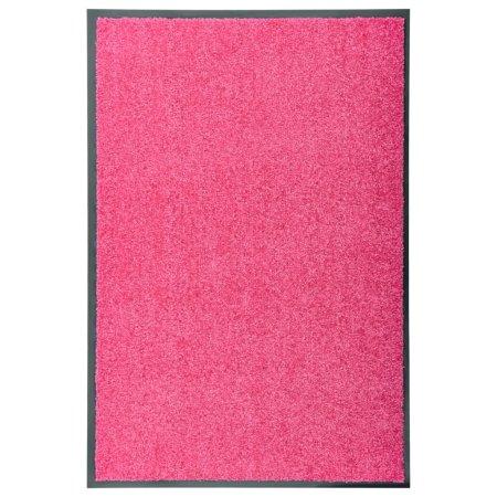 shumee Wycieraczka z możliwością prania, różowa, 60 x 90 cm