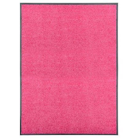shumee Wycieraczka z możliwością prania, różowa, 90 x 120 cm