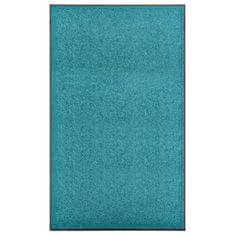 shumee ciánkék kimosható lábtörlő 90 x 150 cm