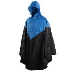 Willex Ponczo przeciwdeszczowe z kapturem S/M, niebiesko-czarne, 29219