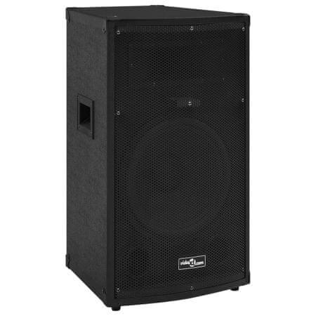 shumee Profesjonalny głośnik pasywny HiFi, 1000 W, czarny, 32x32x64 cm
