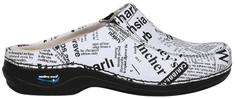 Nursing Care PARIS pracovní kožená pratelná obuv s certifikací unisex bez pásku noviny WG4F9 Nursing Care Velikost: 35