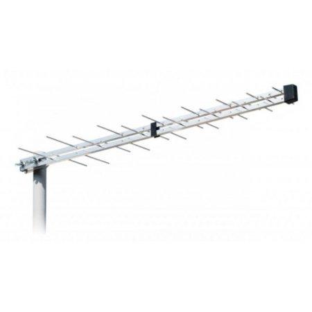 Iskra Antena UHF 2845 DTT/G komplet + usmernik+ koaks kabel+ojačevalnik