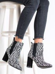 Dámske členkové topánky 67996