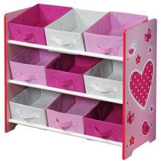 Kesper Organizer na hračky ružový