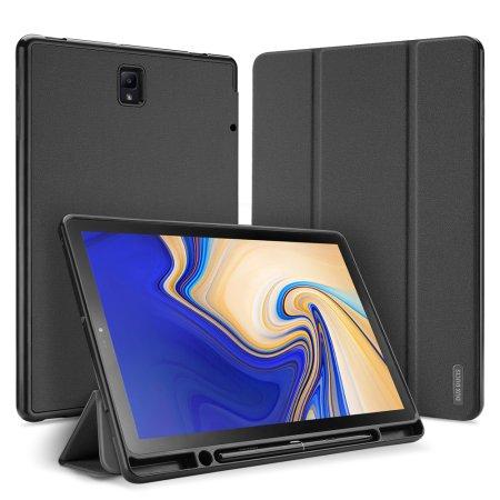 Dux Ducis Domo tablet tok Samsung Galaxy Tab S4 10.5, fekete