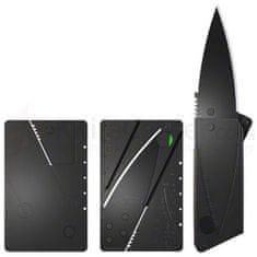 PRC Skládací nůž v kreditní kartě