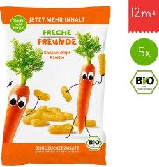 Freche Freunde BIO Křupky Kukuřice a mrkev (5x30g)