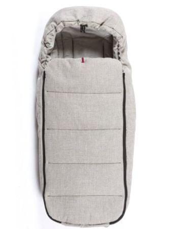 MAST M2 Cocoon spalna vreča za otroški voziček, zimska, svetlo siva