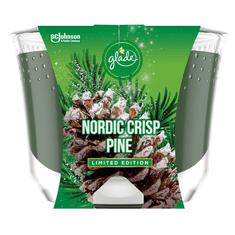 Glade MAXI Vonná svíčka - NORDIC CRISP PINE - limitovaná edice