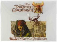 Jiri Models plastična mapa s kopčom Pirati s Kariba