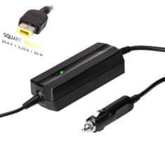 Akyga AK-ND-41 autonabíječka pro notebooky IBM / Lenovo - 20V/3.25A 65W Slim Tip konektor + pin