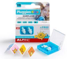 ALPINE Hearing Pluggies Kids - detské štuple do uší