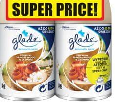 Glade Automatic Spray Sandalwood & Jasmine DUO náplň (2 x 269 ml)