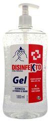 Disinfekto Gél na ruky s obsahom alkoholu 1000 ml s pumpičkou