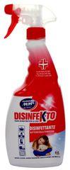 Disinfekto Dezinfekcia bez chlóru s kvetinovou vôňou v spreji 2 x 500 ml