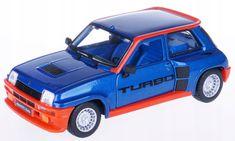 BBurago 1:24 Plus Renault 5 Turbo, plavi