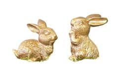 Kraftika Zlatý zajíc, mix druhů, 4 ks