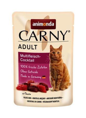 Kraftika Carny adult 85 g multimasový koktajl kieszonkowe dla kotów,