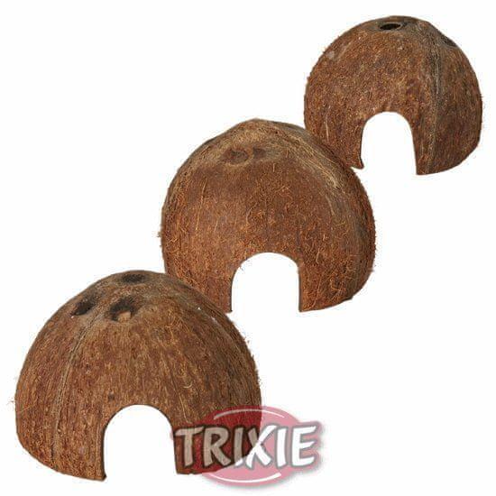 Trixie Set domečků z kokosových ořechů 3ks 8/10/12cm,