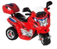 Kids World Dětská elektrická motorka Rallye 11803A červená