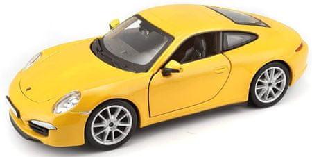 BBurago model Plus Porsche 911 Carrera S, 1:24, rumen