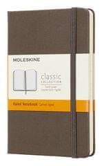 Moleskine Class bilježnica, mala, crte, smeđa