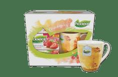Pickwick Darčekové balenie ovocných čajov s hrnčekom PODZIM