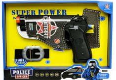 Mac Toys Policejní pistole s opaskem