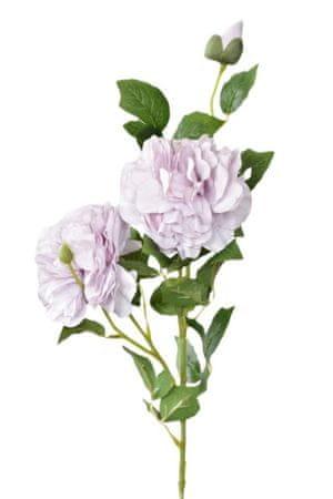 Kraftika Mesterséges bazsarózsa 74 cm, lila
