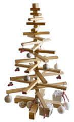 Portoss Drvena novogodišnja jelka, 100 cm