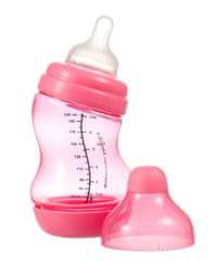 Difrax Csecsemő S-cumisüveg, széles, Anti kólikás 200 ml