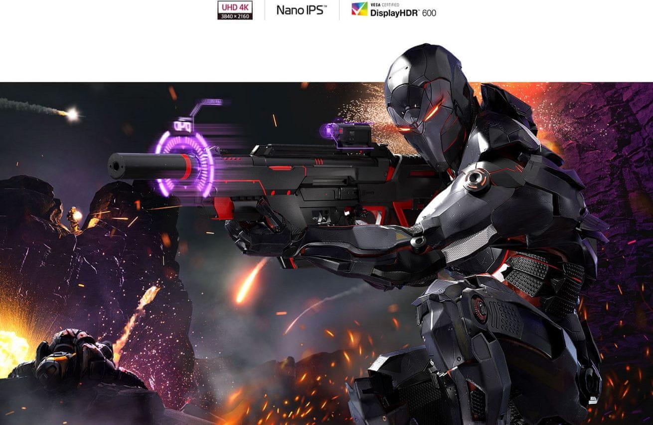 LG UltraGear 27GN950 gaming monitor (27GN950-B.AEU) HDR10