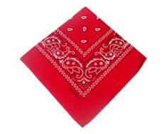 ORSI Šátek 53x53 bandana červený