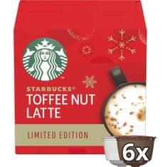 Starbucks Toffee Nut Latte by NESCAFE DOLCE GUSTO limitált kiadás Kávékapszulák, 12 KAPSZULA