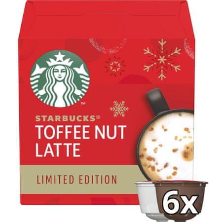 Starbucks Toffee Nut Latte by NESCAFE Dolce Gusto omejena izdaja, 12 kavnih kapsul