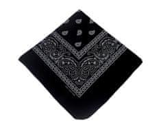 ORSI Šátek 53x53 bandana černý