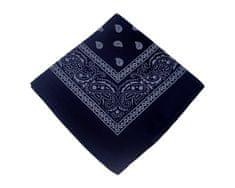 ORSI Šátek 53x53 bandana tmavě modrý