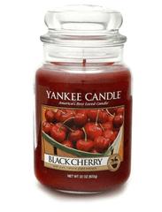 Yankee Candle BLACK CHERRY Velká svíčka 623 g