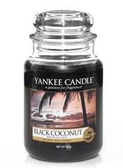 Yankee Candle BLACK COCONUT Velká svíčka 623 g