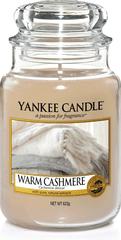 Yankee Candle WARM CASHMERE Velká svíčka 623 g