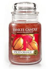 Yankee Candle SPICED ORANGE Velká svíčka 623 g