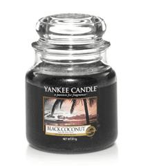 Yankee Candle Yankee gyertya FEKETE KOKUSZ Közepes gyertya 411 g
